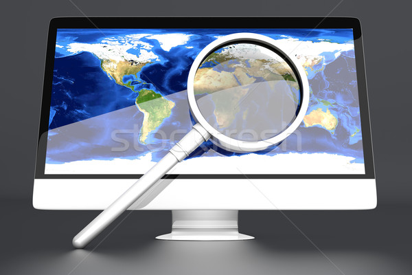 Global scan Stock photo © Spectral