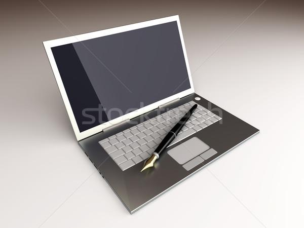 Digital Writer Stock photo © Spectral