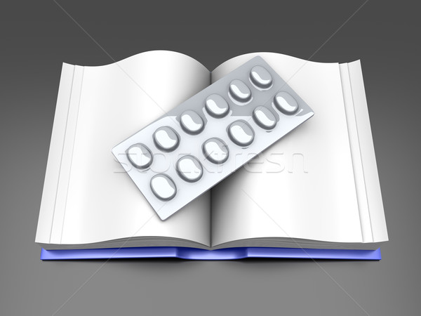 Pharma Book Stock photo © Spectral