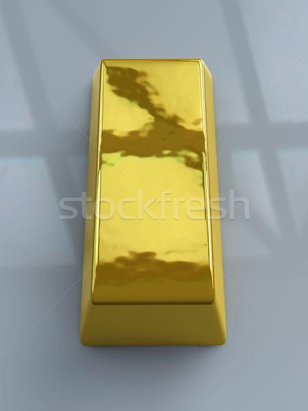 Gold Bar - Dark Environment Stock photo © Spectral