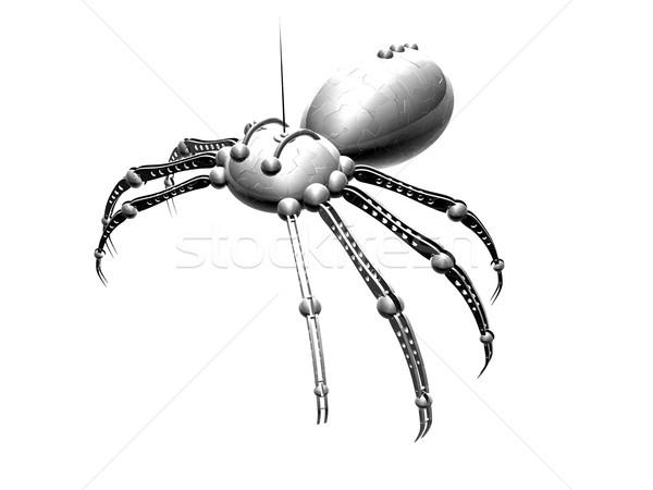 Robot pók izolált 3d render gép rovar Stock fotó © Spectral