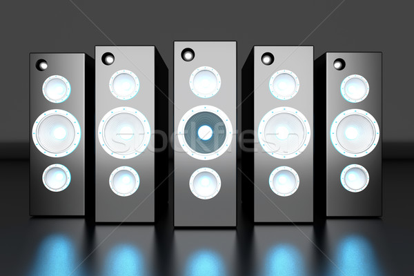 Stock photo: Power Speakers