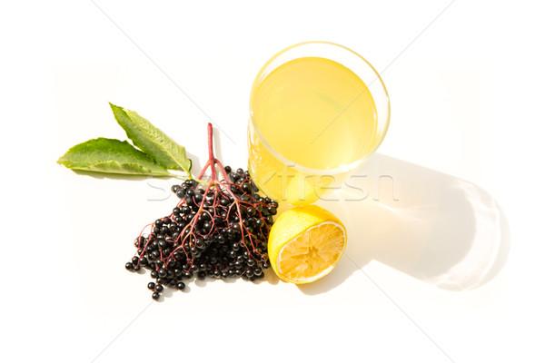 Natural Lemonade with elder berries Stock photo © Spectral