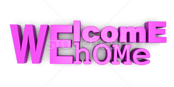 Welcome home Stock photo © Spectral