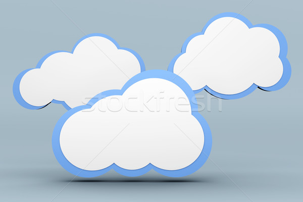 Cloud computing Stock photo © Spectral