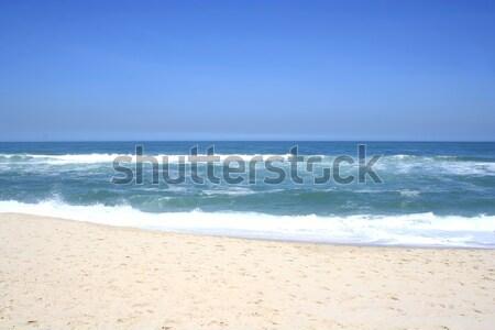 Сток-фото: пляж · Рио-де-Жанейро · Бразилия · небе · воды · природы