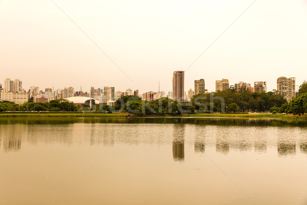 Ibirapuera Park in Sao Paulo Stock photo © Spectral