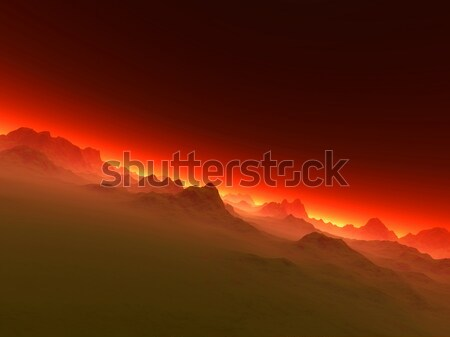 Redscape Stock photo © Spectral