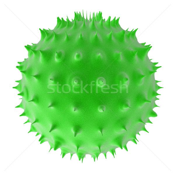 Foto stock: Bactéria · 3D · prestados · ilustração · microscópio · doente