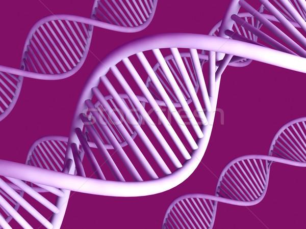 Stok fotoğraf: Genel · DNA · 3D · render · çift