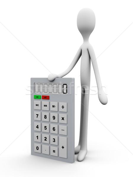 電卓 実例 学校 科学 金融 デジタル ストックフォト © Spectral