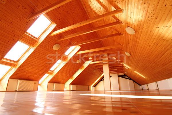 Empty Attic Apartment Stock photo © Spectral