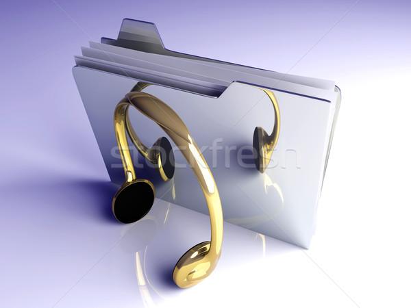 Music Folder Stock photo © Spectral