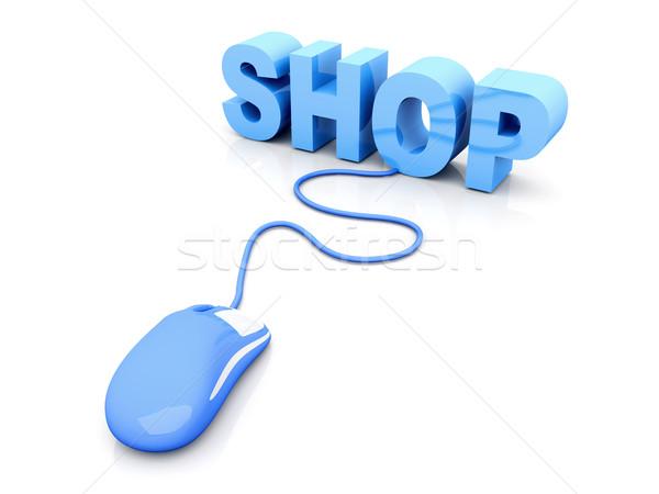 Online Shop Stock photo © Spectral