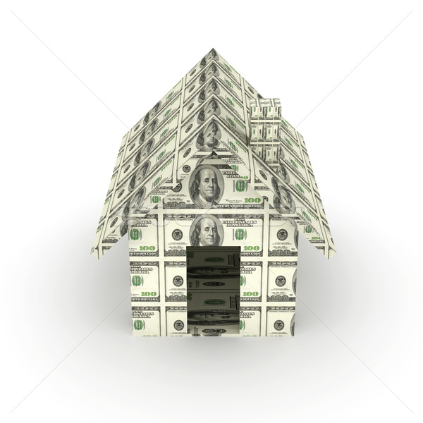 Dollar Toy House Stock photo © Spectral
