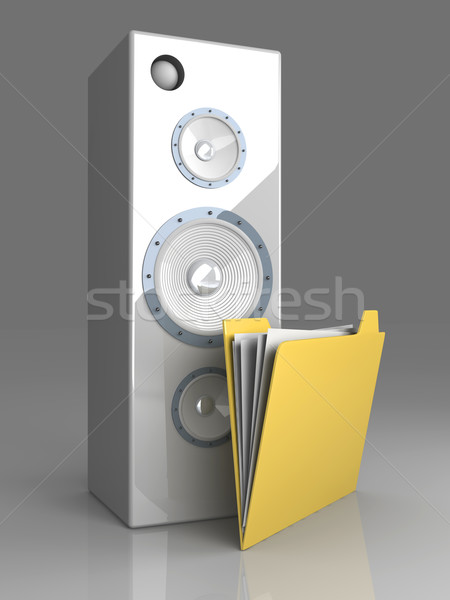 Sound Directory Stock photo © Spectral