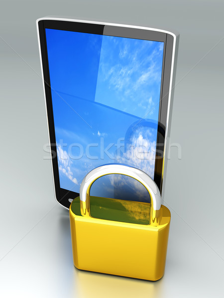 Smartphone Lock		 Stock photo © Spectral