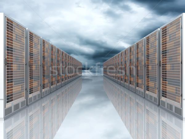 Server Cloud Stock photo © Spectral