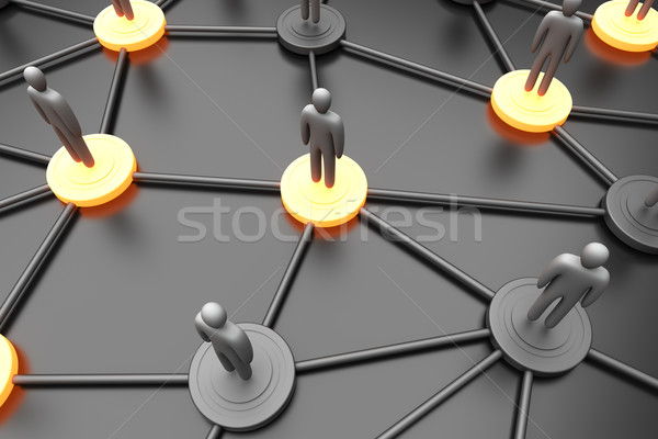 Network Nodes	 Stock photo © Spectral