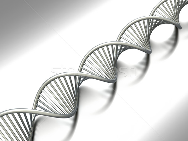 Dna simbólico modelo 3D prestados ilustração Foto stock © Spectral