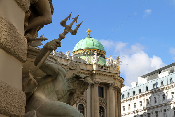 View on the Hofburg in Vienna	 Stock photo © Spectral