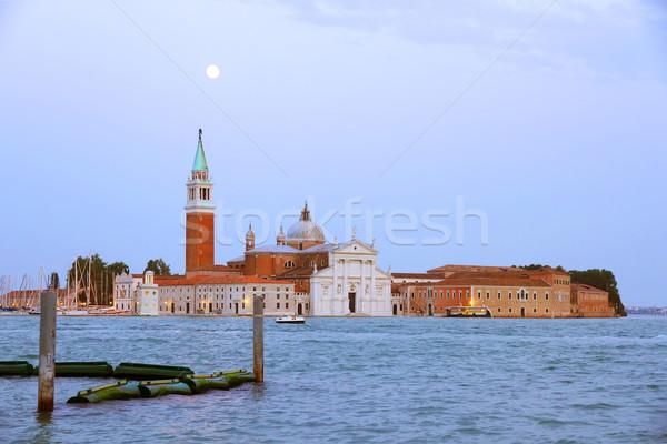 Nightfall in Venice Stock photo © Spectral