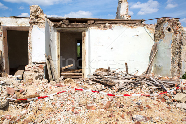 Demolished House		 Stock photo © Spectral