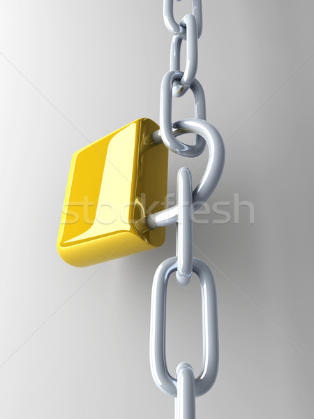 Locked Chain Stock photo © Spectral