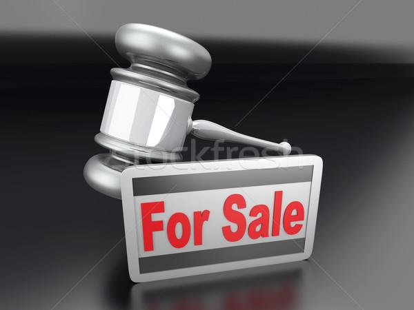 Auction sale Stock photo © Spectral
