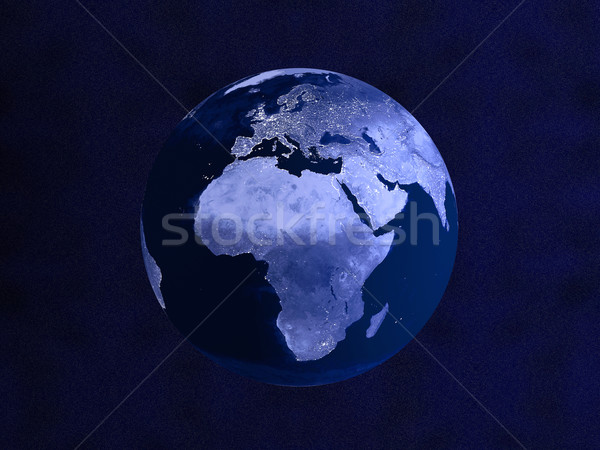 Nightly Globe Stock photo © Spectral