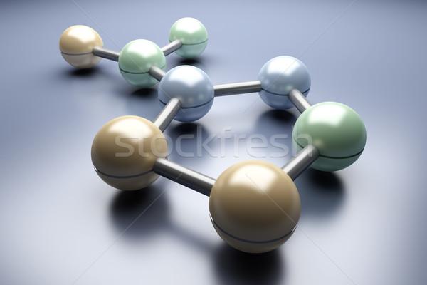 Generic Molecule Stock photo © Spectral