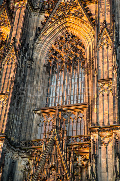 Window of the Cathedral of Cologne	 Stock photo © Spectral