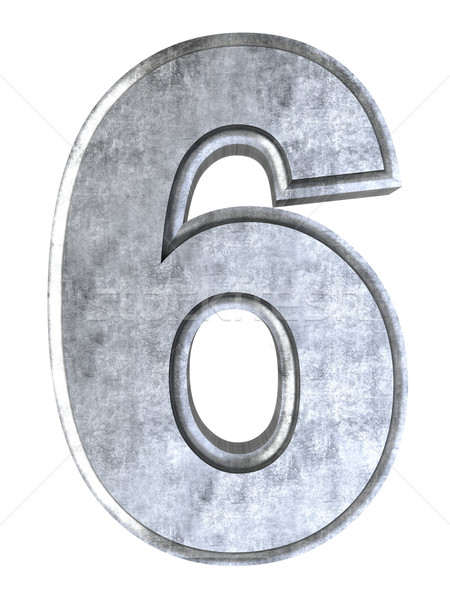 Number 6 Stock photo © Spectral