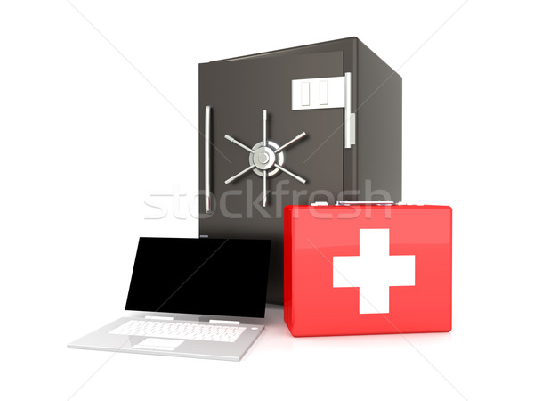 Laptop Security suite Stock photo © Spectral