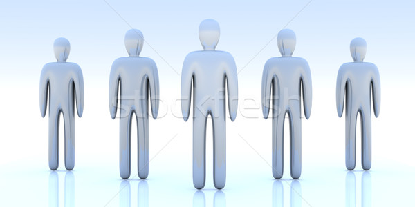 Anonymous People Stock photo © Spectral