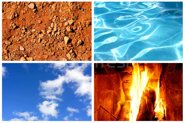Four elements Stock photo © Spectral