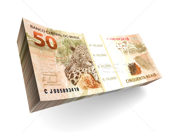 Brazilian Real bills Stock photo © Spectral