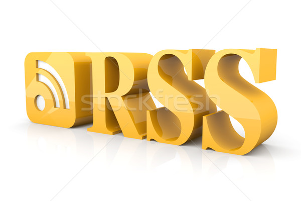 RSS  Stock photo © Spectral