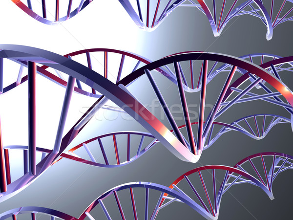 Metal DNA Stock photo © Spectral