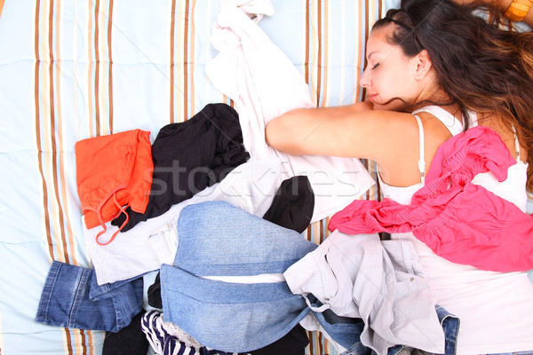 Lost in clothes Stock photo © Spectral
