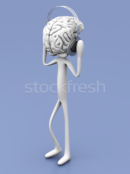 Mind Music	 Stock photo © Spectral