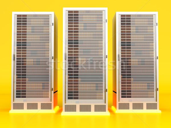 Server center Stock photo © Spectral