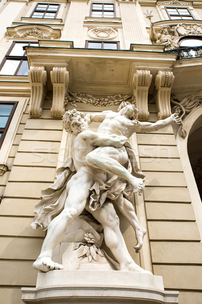 Ancient Statues in Vienna	 Stock photo © Spectral