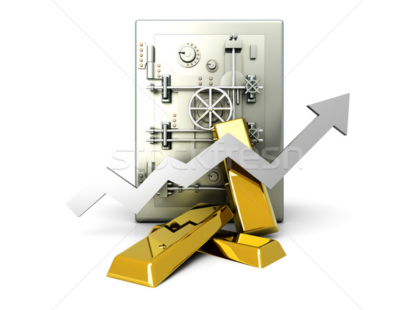 Growing Gold Deposit	 Stock photo © Spectral