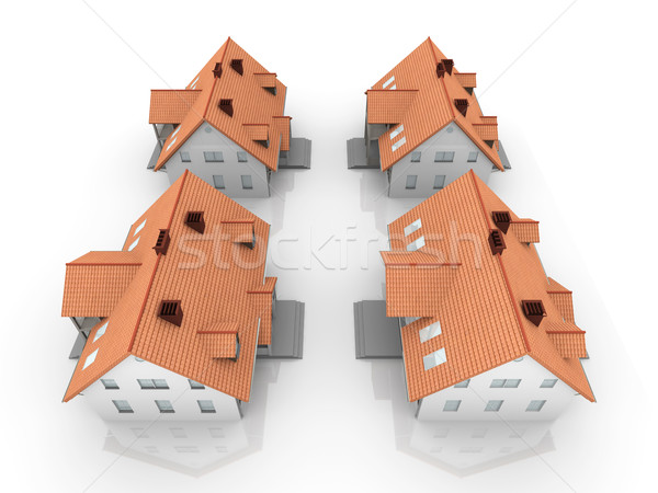Four Houses Stock photo © Spectral
