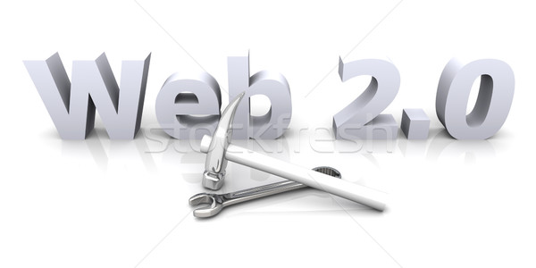 Web 2.0 - Under Construction	 Stock photo © Spectral