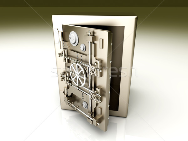 Open Vault Stock photo © Spectral