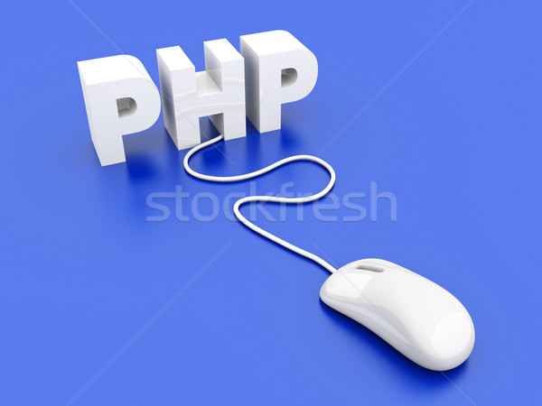 PHP Click	 Stock photo © Spectral