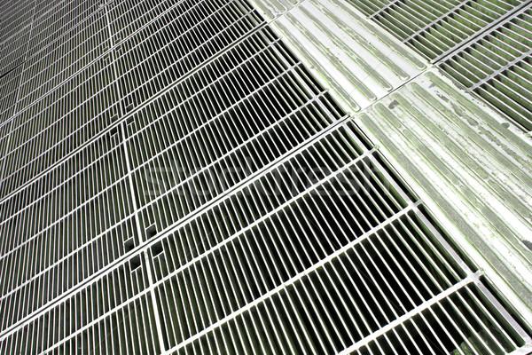Fém hálózat padló Sao Paulo Brazília dél-amerika Stock fotó © Spectral