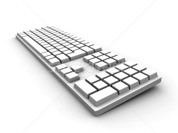 Keyboard - white